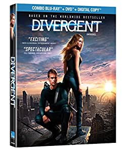 Divergent / Divergence [Blu-ray + DVD + Digital Copy] (Bilingual)