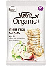 Heinz Organic Apple Rice Cakes, 40g