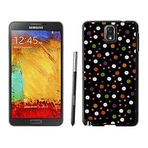 Customized Halloween Texture Black Samsung Galaxy Note 3 Case 1