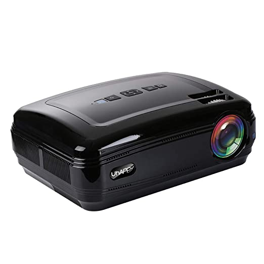 FFQNG Proyector, 3200 LúMenes LED Compatible con Proyector ...
