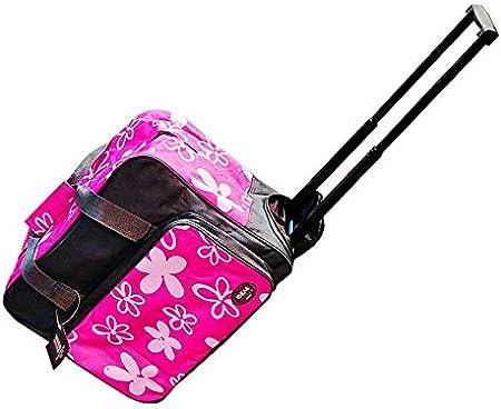 Maleta Trolley para máquina de coser Rosa/gris: Amazon.es: Hogar