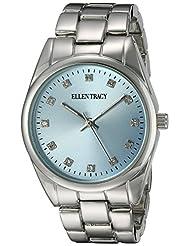 Ellen Tracy Women's ET5198SLLB Blue Dial Classic Mens Watch