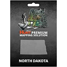 onXmaps HUNT North Dakota: Digital Hunting Map For Garmin GPS + Premium Membership For Smartphone and Computer - Color Coded Land Ownership - 24k Topo - Hunting Specific Data