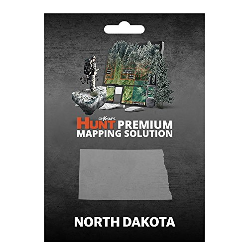 onXmaps HUNT North Dakota: Digital Hunting Map For Garmin GPS + Premium Membership For Smartphone and Computer - Color Coded Land Ownership - 24k Topo - Hunting Specific Data by onXmaps