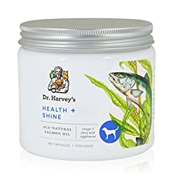Dr. Harvey\'s 180 Count Health and Shine Oil Capsules for Dogs