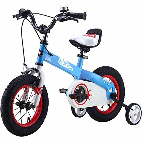 XQ- TR-957 Bleu Enfants Vélo Enfants 3-8 Ans Garçon Fille Equitation Sécurité Stable 12/14/16 Pouce