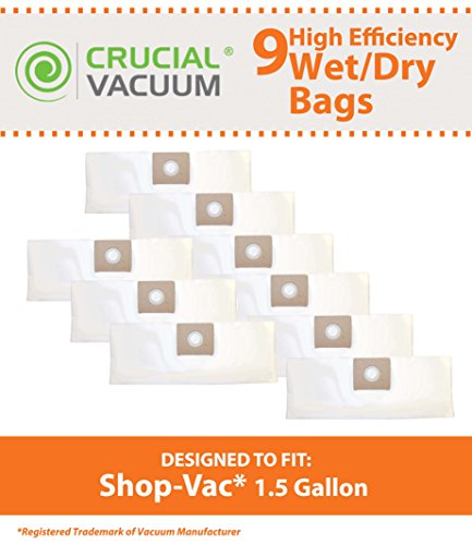 vacuum filter bag 2 gallon - 7