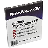 Samsung GALAXY Tab 2 10.1 SGH-I497 (AT&T) Battery Replacement Kit with Video Installation DVD, Installation Tools, and Extended Life Battery by NewPower99