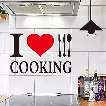 Moderne Küche wasserfeste Selbstklebende Tapete Art déco ...