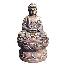 Ore International RD-WXF00319 29-Inch Buddha Fountain, Large