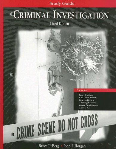 Criminal Investigation Study Guide Third Edition