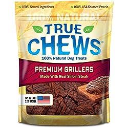 True Chews Premium Grillers Dog Treats, Sirloin Steak, 12 Ounce