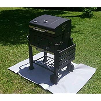 Amazon Com Pyroprotecto Fireproof Grill Mat For Gas Or