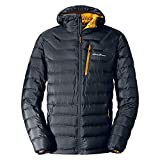 Eddie Bauer Men's Downlight Hooded Jacket, Storm Regular M