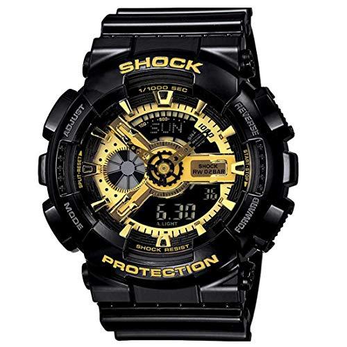 Driton Multi Function Water Proof Black Digital Analog Watch for Men's