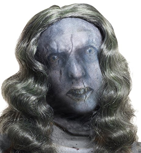 [Rubie's Costume Co Women's Zombie Female Mask, Multi, One Size] (Zombie Costume For Female)
