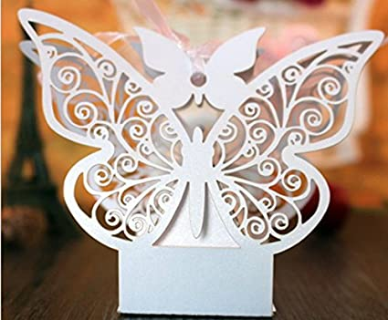 Mr And Mrs Glitter Present Wedding Display Decoration Butterflies Pink Grey Whit