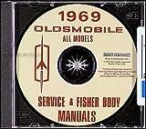 1969 Oldsmobile CD Shop & Body Manual