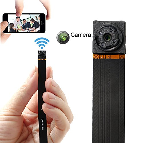 Hidden Camera ZTCOLIFE 1080p Mini WIFI Video Camera with Motion Detection for IOS Android Phone APP Support 32G SD
