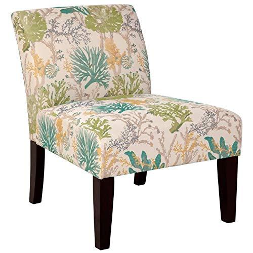 Carver 1006-01-F12 Evington Under The Sea Slipper Chair One Size Multicolor
