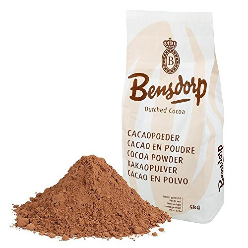 Bensdorp (Barry Callebaut) High Fat Cocoa Powder | 22/24% Cocoa Butter Content | Great for mousse, cremes, biscuits, ice cream, confectionary, decoration, hot chocolate, Made in Belgium (2 x 11Lbs) by Bensdorp (Image #1)