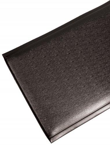 Bertech FFTX12-2x3BLK 1/2\' x 2\' x 3\' Black Fatigue Fighter Vinyl Floor Mat, Textured Pattern
