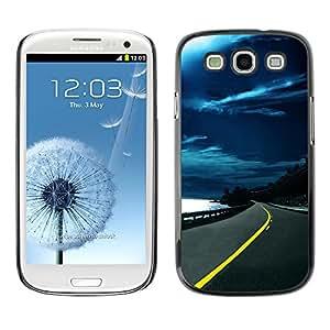 Paccase / SLIM PC / Aliminium Casa Carcasa Funda Case Cover - Nature Beautiful Forrest Green 151 - Samsung Galaxy S3 I9300