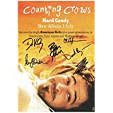 Counting Crows Autographed Signed A4 21cm x 29.7cm Poster Photo by Unknown