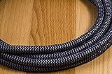 GE, Black, Designer Power Strip, 6 Inch Braided