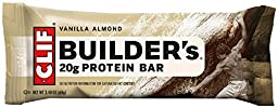 Clif Bar, Builder Bar, Vanilla Almond, 2.4 oz