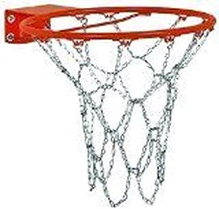 New bright zinc//brass pltd steel Anti Rust Basketball Chain Net gold and silver
