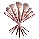 UCANBE Professional Makeup Brushes Rose Gold Makeup Foundation Blush Concelaer Contouring Eye Shadow Brush Kits