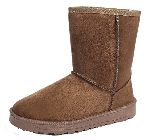 Nieve AgeeMi Clásicas Tall camello Botas Classic Mujer Shoes Fur Invierno Lined Botas R1Rr8zwqx