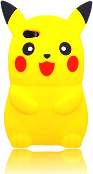 Pokemon Pikachu Case Soft Silicone