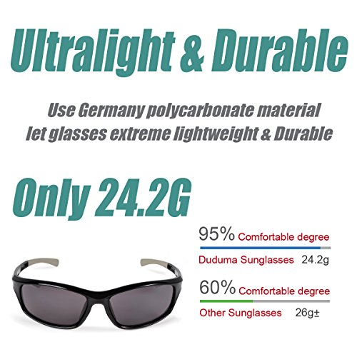 Durable Modelando Duduma Gafas de Sol Deportivas Polarizadas Para Hombre  Perfectas Para Esquiar Golf Correr Ciclismo ec784008df60