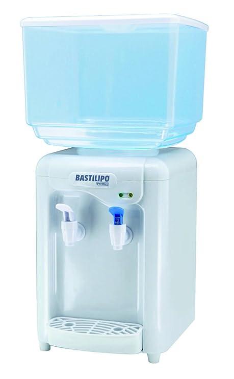 Bastilipo Riofrio Dispensador de Agua Fría, 65 W, 7 litros, Plástico, Blanco