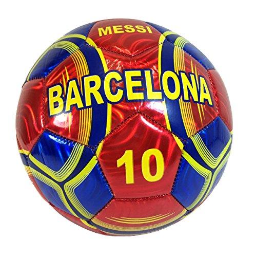 Soccer Ball Size 5 - U.S.A, Barcelona, El Salvador, Spain, Mexico, Italy, Brasil, Polska, Guatemala, Madrid, Argentina (Barcelona Red) (Soccer Balls Guatemala)