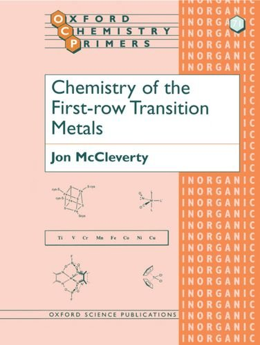 Chemistry of the First-row Transition Metals (Oxford Chemistry Primers)