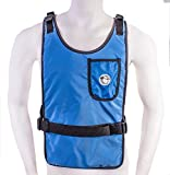 Blue Self Charging Cooling Vest with Inserts (78°F)