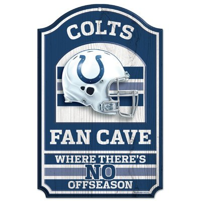 - WinCraft NFL Indianapolis Colts 05449010 Wood Sign, 11