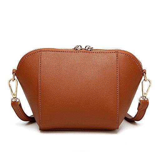 pequeña moderno estilo bolsa de bolsos bolsos bolsa nuevo de Cadena hombro sencillo y BURxd