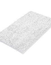 "Chenille Plush Rugs Bath Mat Non-Slip Soft Bath Mats with Water Absorbent, 20"" x 32"""