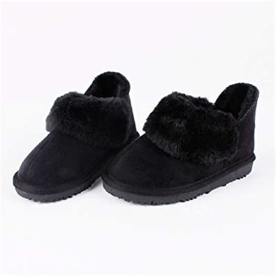 Children kids Martin Winter Boots Snow Baby Warm Shoes Toddler Boys Girls Boot M