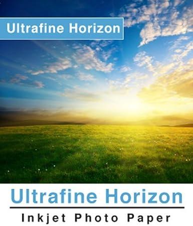 """Ultrafine Horizon Inkjet Paper Gloss 10.2 mil 260g 10/"""" x 100/' for Epson,Canon"""