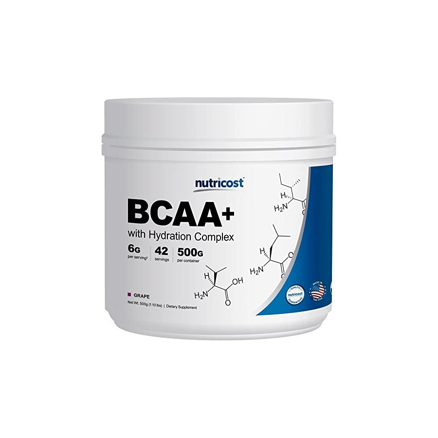 Nutricost BCAA Powder 2:1:1 500 Grams