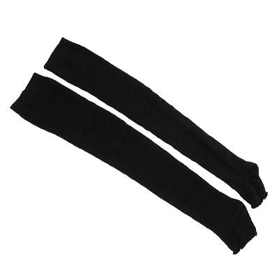 ?Extensible de femmes automne hiver coton tricoté collant chaussettes botte