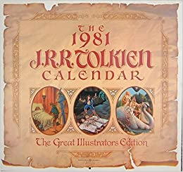 The 1981 J.R.R. Tolkein Calendar, Various
