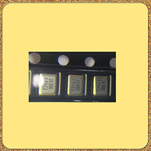 HUABAN 10PCS Industrial Grade SMD Resonator JYXT32S4-024.00000-9FE4B0 3225 24Mhz 20PF ±10ppm -40 to +85degree Passive Crystal
