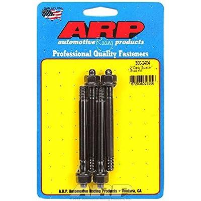 "ARP 300-2404 Carburetor Stud Kit (2"" spacer drilled for NASCAR wire seal Pro Series 4 pcs.): Automotive"