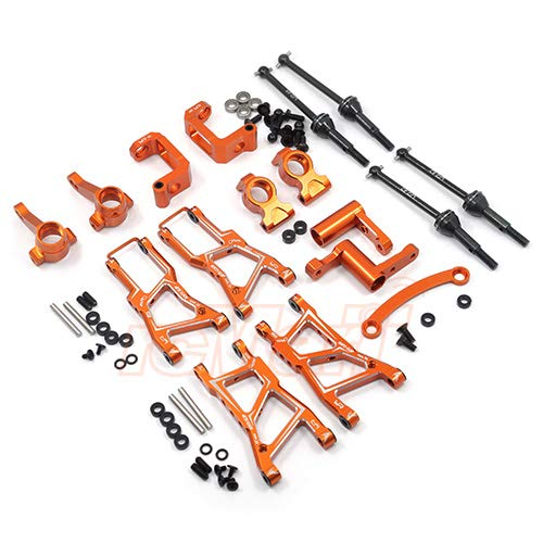 Yeah Racing Aluminum Essential Conversion Kit For HPI RS4 Sport 3 Orange #RSS3-S01OR